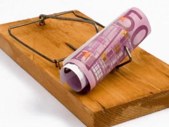 Burlas financeiras sobre créditos