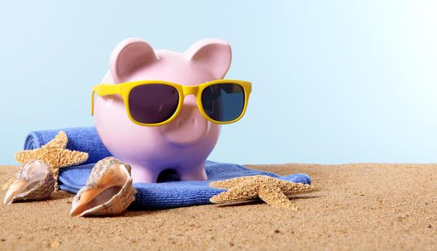 Poupar para as férias